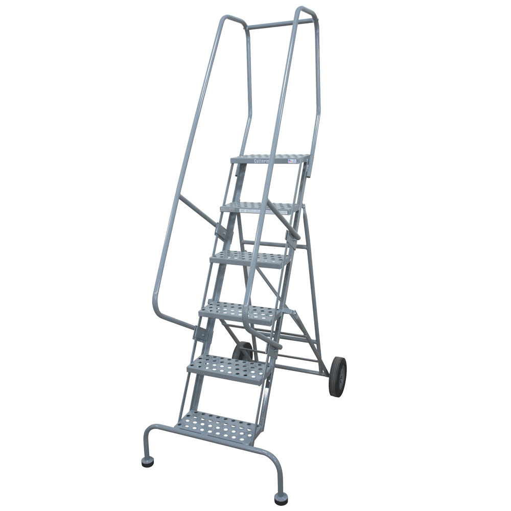 Enjoyable Cotterman Series 6500 Roll N Fold Ladder Grip Strut Steps A3 Squirreltailoven Fun Painted Chair Ideas Images Squirreltailovenorg