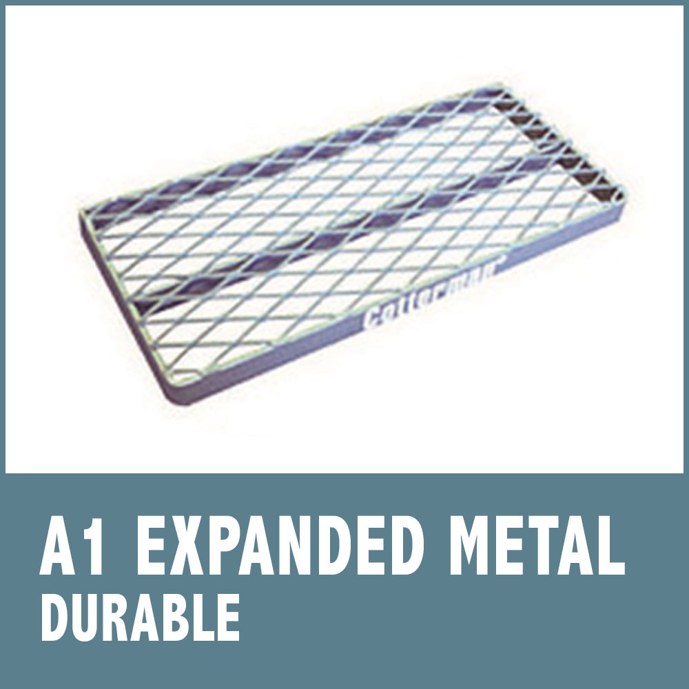 Set-Up Safety Ladders - Expanded Metal Tread (A1)