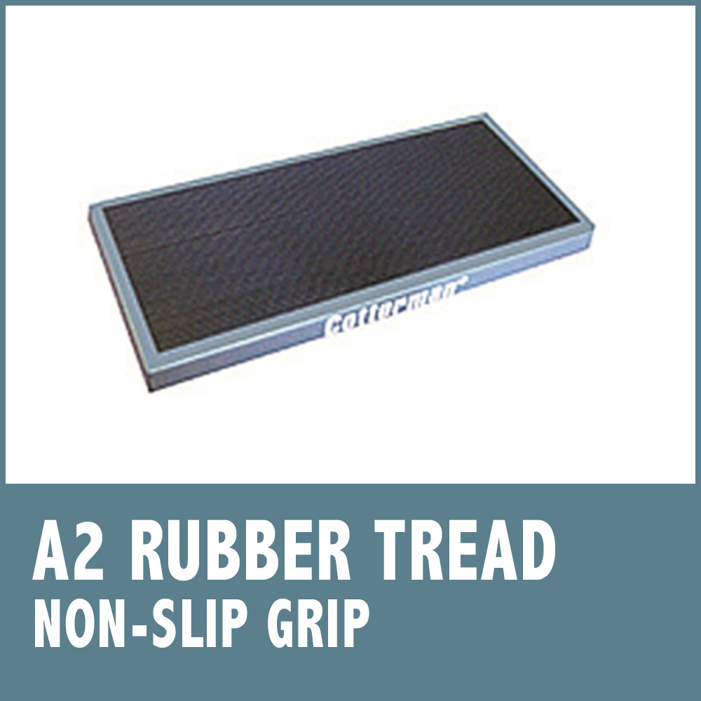 Set-Up Safety Ladders - Rubber Tread (A2)