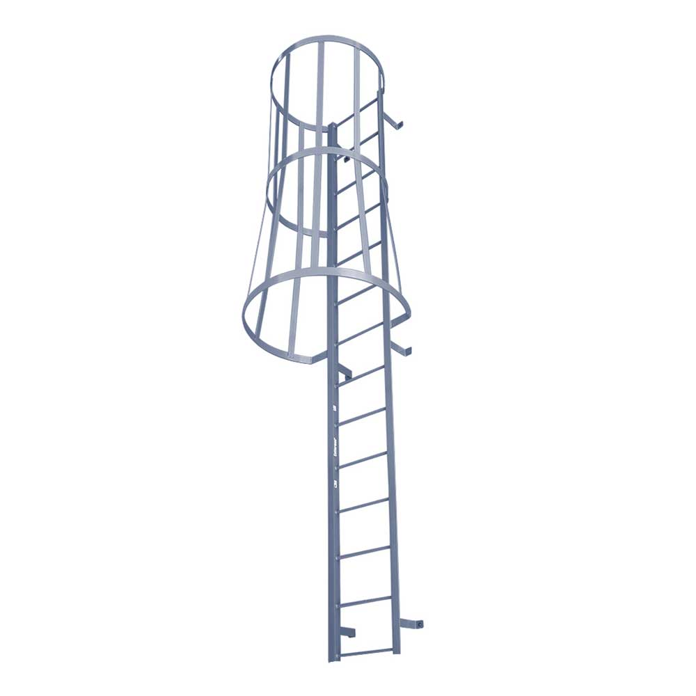 Fixed Ladder with Safety Cage (FSC Series)