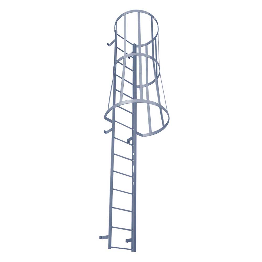 Modular Fixed Ladder with Safety Cage (MSC Series)