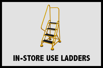 In-Store Use Rolling Ladders